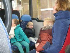 Groep 2a met de bus 005