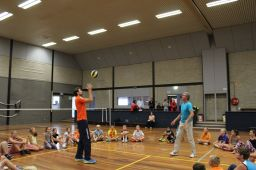 Volleybalclinic groep 8 020